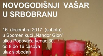 Новогодишњи вашар у Спомен кући Гион Нандора